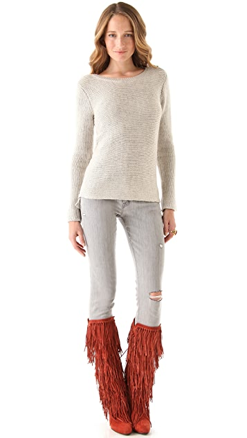 Scotch & Soda/Maison Scotch Rib Knit Sweater