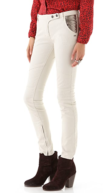 Scotch & Soda/Maison Scotch Famous Biker Skinny Jeans