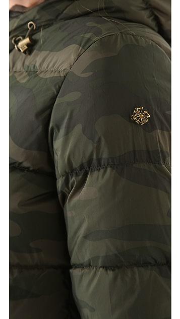 Scotch & Soda/Maison Scotch Short Hooded Down Jacket