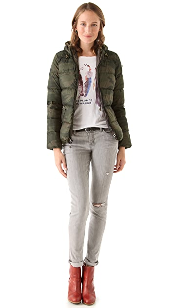 Scotch & Soda/Maison Scotch Short Hooded Down Jacket