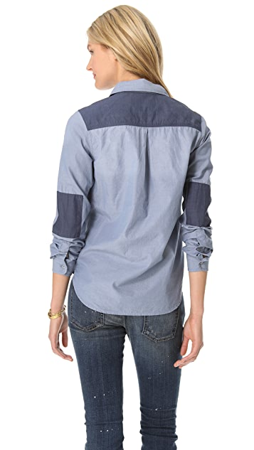 Scotch & Soda/Maison Scotch Washed Chambray Shirt