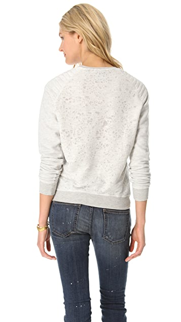 Scotch & Soda/Maison Scotch Biker Sweatshirt