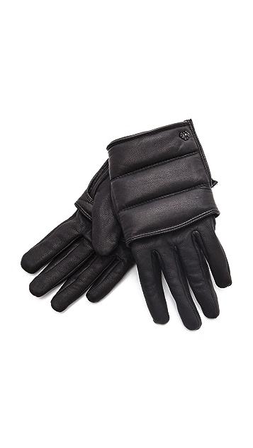 Scotch & Soda/Maison Scotch Leather Gloves