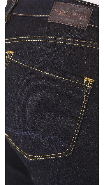 Scotch & Soda/Maison Scotch Rinse Wash Skinny Jeans