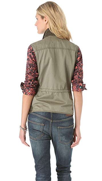 Scotch & Soda/Maison Scotch Lightweight Army Jacket