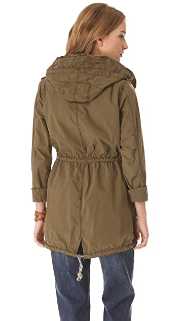 Scotch & Soda/Maison Scotch Parka with Removable Lining