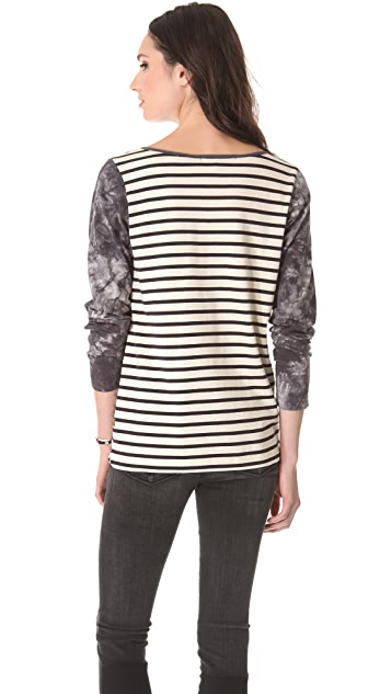 Scotch & Soda/Maison Scotch Striped Pullover Tee