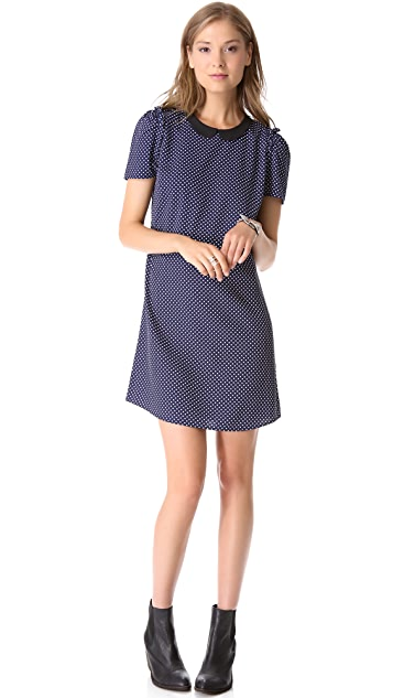 Scotch & Soda/Maison Scotch Iconic Polka Dot Dress