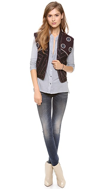 Scotch & Soda/Maison Scotch Embellished Vest