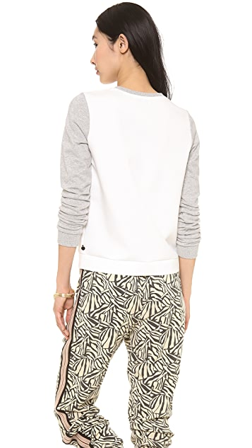 Scotch & Soda/Maison Scotch Woven Mixed Top