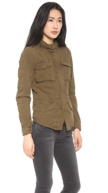 Scotch & Soda/Maison Scotch Fitted Military Jacket