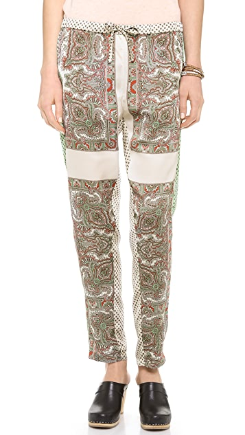 Scotch & Soda/Maison Scotch Silky Printed Pants