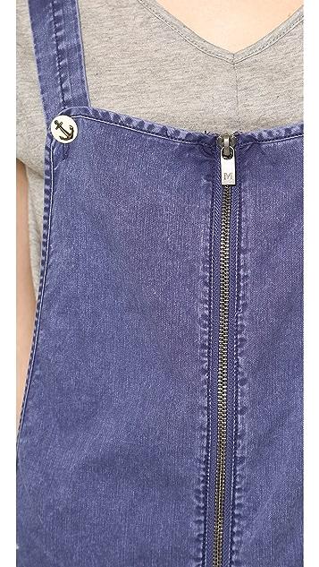 Scotch & Soda/Maison Scotch Washed Denim Shorts