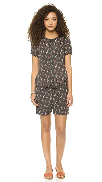Scotch & Soda/Maison Scotch Cruise Theme Printed Romper