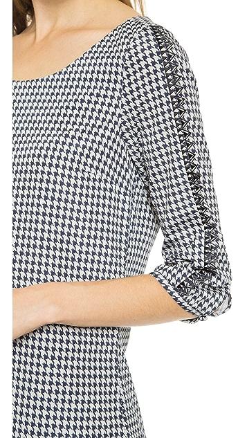 Scotch & Soda/Maison Scotch Print Dress with Sleeve Detail