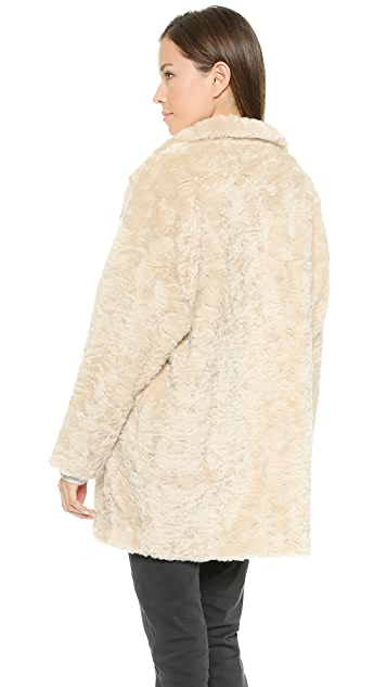 Scotch & Soda/Maison Scotch Faux Fur Coat