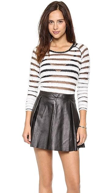 Scotch & Soda/Maison Scotch Striped Long Sleeve Sweater