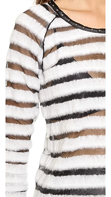 Scotch & Soda/Maison Scotch Striped Long Sleeve Sweater
