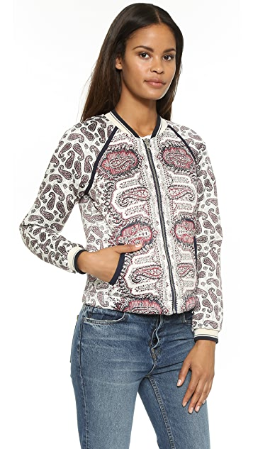 Scotch & Soda/Maison Scotch Paisley Reversible Bomber Jacket