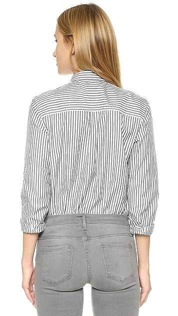 Scotch & Soda/Maison Scotch Striped Boyfriend Shirt