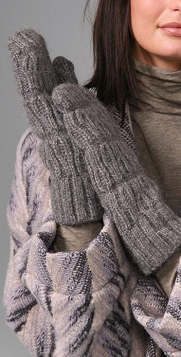 MM6 Knit Mittens