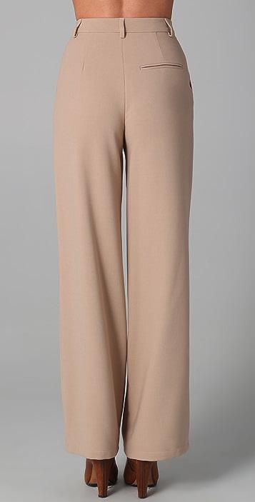 MM6 Wide Leg Trousers