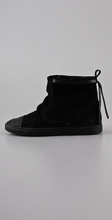 MM6 Drawstring Sneaker Booties