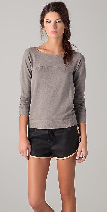 MM6 Open Back Sweatshirt