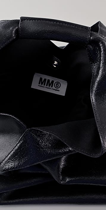 MM6 Calfskin Shoulder Bag