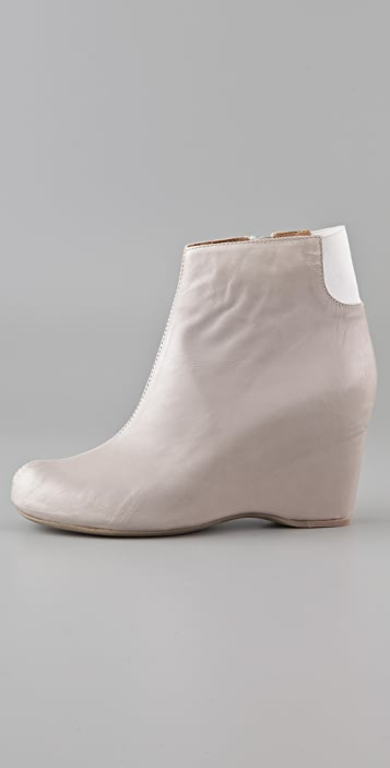 MM6 Wedge Ankle Booties