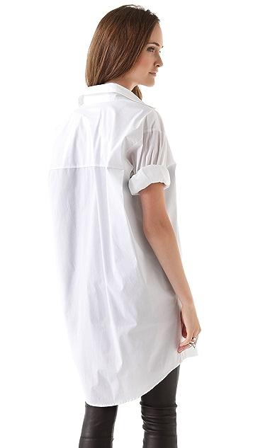 MM6 Oversized Button Down Shirt