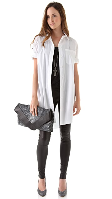 MM6 Oversized Button Down Shirt