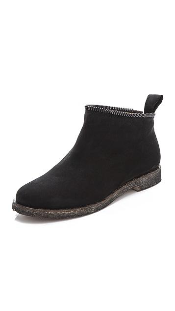 MM6 Unzippable Shaft Boots