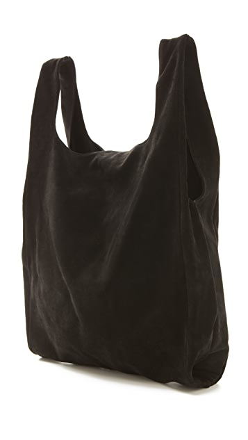 MM6 Suede Shopper