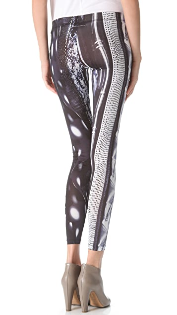 MM6 Printed Leggings