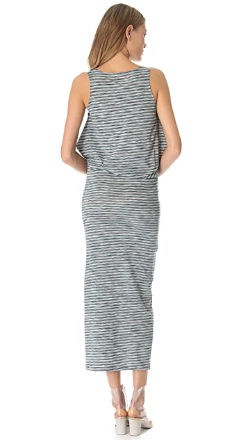 MM6 Striped Tank Dress