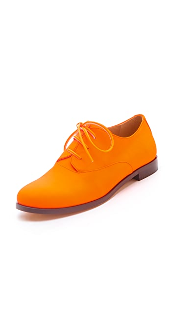 MM6 Lace Up Oxfords