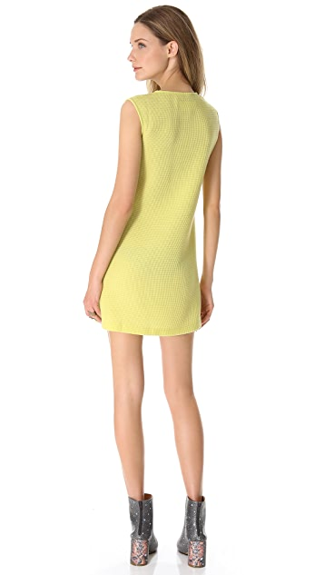 MM6 Sleeveless Waffle Dress