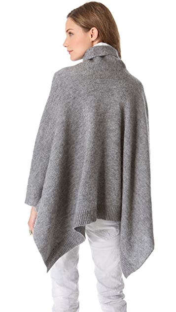 MM6 High Collar Poncho
