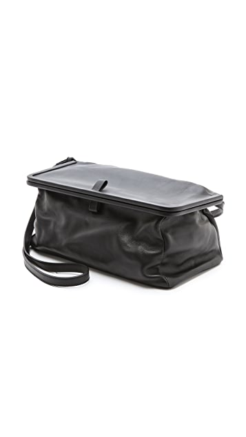 MM6 Leather Shoulder Bag