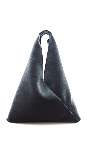 MM6 Felt Shoulder Bag