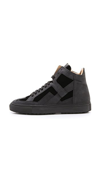 MM6 Lace Up Sneakers