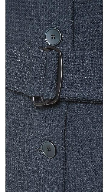 MM6 Long Cardigan Coat