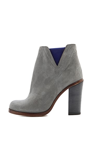MM6 Contrast Inset Booties