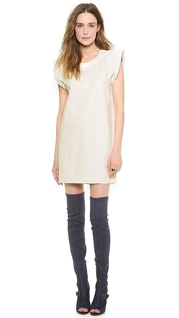 MM6 Leather Dress