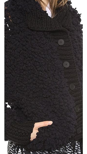 MM6 Textured Cardigan / Jacket