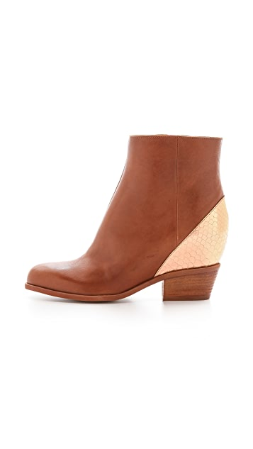 MM6 Hidden Wedge Booties