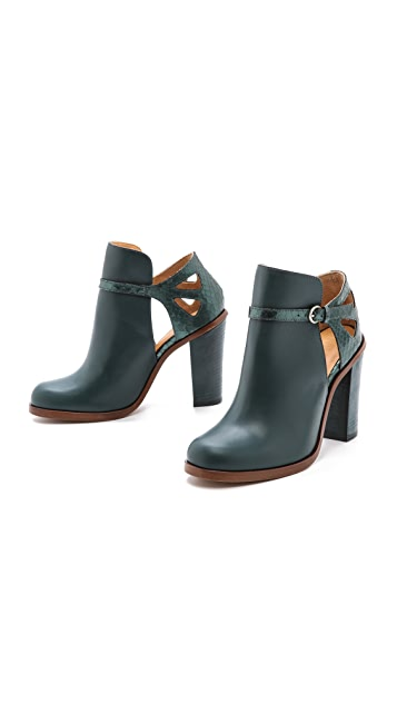 MM6 Cutout Booties