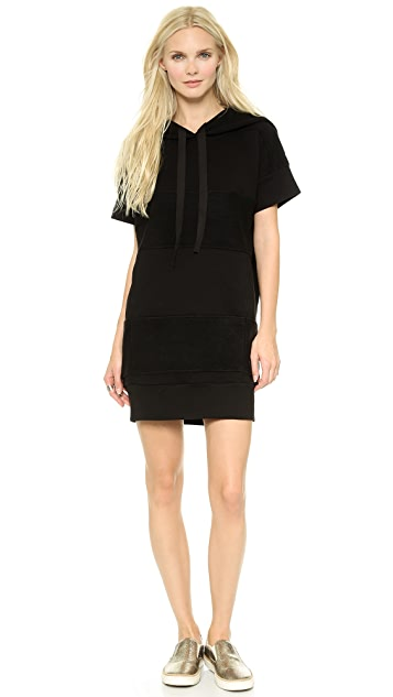 MM6 Hooded Sweatshirt Dress