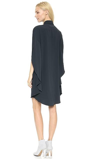 MM6 Cape Back Dress